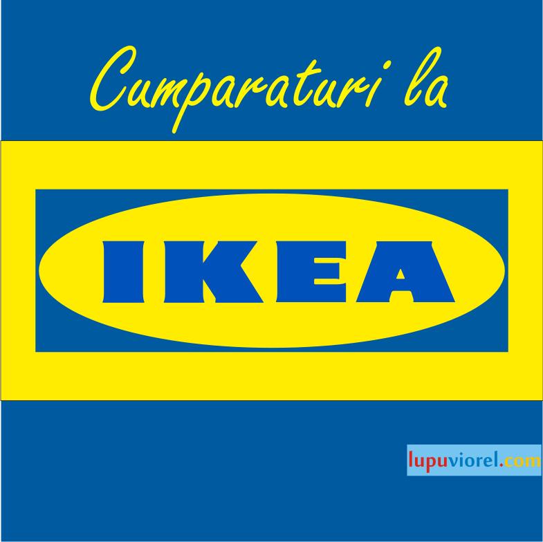 Cumparaturi la Ikea